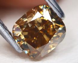Orange Diamond 1.04Ct Natural Untreated Genuine Diamond BM13