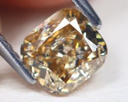 Orange Diamond 1.02Ct Natural Untreated Genuine Diamond BM20