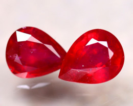 Ruby 5.73Ct 2Pcs Madagascar Blood Red Ruby DN87/A20