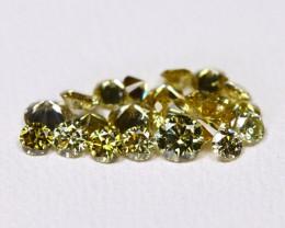 Green Diamond 1.02Ct Natural Untreated Genuine Diamond Lot BM55