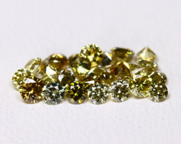 Green Diamond 1.02Ct Natural Untreated Genuine Diamond Lot BM57