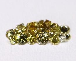 Green Diamond 1.01Ct Natural Untreated Genuine Diamond Lot BM59