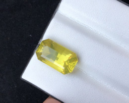 Fancy Cut Size 19.50 ct Attractive Citrine Ring Size