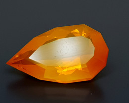 4.45CT FACETED FIRE OPAL BEST QUALITY GEMSTONE IIGC20