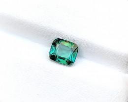 1.05 Ct Natural Blueish Green Transparent Tourmaline Gemstone