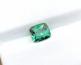 1.10 Ct Natural Blueish Green Transparent Tourmaline Gemstone