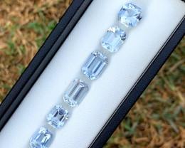17.40 Carats Aqua Goshnite Gemstone Lot From Pakistan