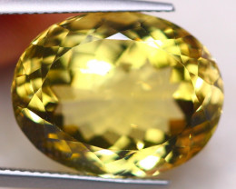 18.99Ct Natural Lemon Quartz Oval Cut Lot LZ7542