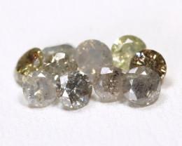 Salt And Pepper Diamond 1.04Ct Untreated Genuine Diamond Lot BM114