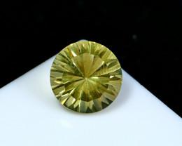 NR!!! 3.60 CTs Natural & Unheated~ Yellow Citrine Gemstone