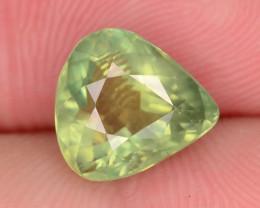Great Luster 3.25 ct Green Apatite ~ K