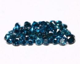 Blue Diamond 1.08Ct Natural Genuine Fancy Diamond Lot BM153