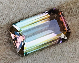 9.59 CT TOURMALINE BI COLOR 100% IF CLEAN NATURAL UNHEATED