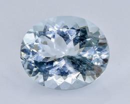 4.40 Crt Aquamarine  Faceted Gemstone (Rk-86)