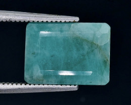 6.08 Crt  Emerald Faceted Gemstone (Rk-86)
