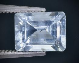 2.25 Crt  Aquamarine Faceted Gemstone (Rk-86)