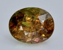 2.18 Crt Natural  Tourmaline Faceted Gemstone.( AB 11)
