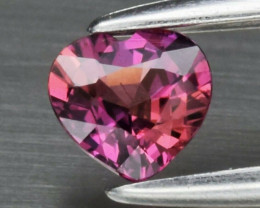 Natural Ruby  0 .26 Carat  Red - Purple