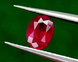 0.73CT NATURAL RUBY MOZAMBIQUE BEST QUALITY GEMSTONE IIGC21