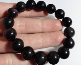 Natural Obsidian Bracelet