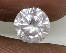 (2) Certified $1642 Brilliant  0.71cts SI2 N White Round  Loose Diamond