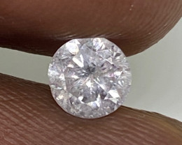 (3) Certified $944 Stunning  0.52cts SI3 Nat WhiteRound  Loose Diamond