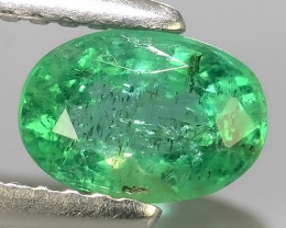 0.90 CTS IMPRESSIVE OVAL BEST COLLECTION OF NATURAL COLOMBIAN EMERALD