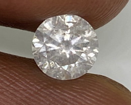 (9) Certified $1892 Precious 0.80cts SI2 Nat White Round Loose Diamond