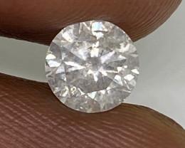 (9) Certified $1892 Precious 0.80cts SI2 Nat White Round Loose Diamond