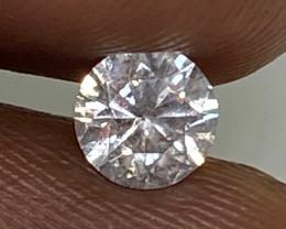 (10) Certified $684 Stunning  0.43cts SI2 Nat White Round Loose Diamond