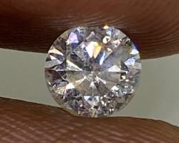 (13) Cert $1084 Precious  0.50cts SI1 Nat White Round Loose Diamond