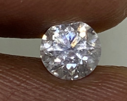 (15) Certified $636 Fiery 0.40cts SI2 Nat White Round Loose Diamond