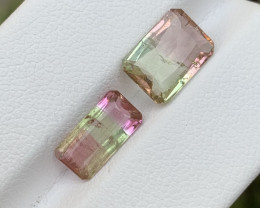4.10 carats Bi-colour Tourmaline Gemstone From Afghanistan