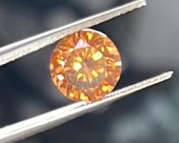 4.15 Ct Sri Lankan golden orange zircon.