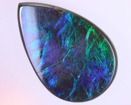 25x16mm,  16.54cts Natural Canadian Ammolite Stone / MA1603