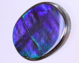 20x15mm,  14.85cts Natural Canadian Ammolite Stone / MA1610