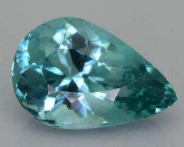 Rare 4.56 ct Amazing Luster Blue Apatite SKU.19