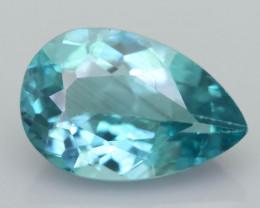 Rare 3.32 ct Amazing Luster Blue Apatite SKU.19
