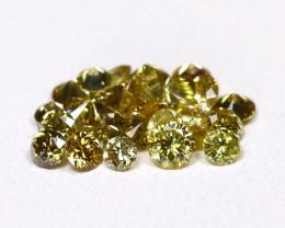 Green Diamond 1.03Ct Untreated Genuine Fancy Diamond Lot BM313