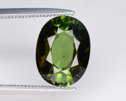 3.45 ct Natural Green Tourmaline From Africa