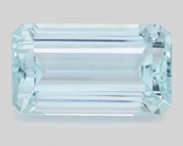 55.55 Ct Aquamarine Awesome Cut Color Gemstone Pakistan AQ1