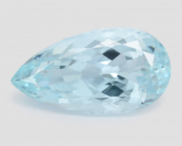 12.31 Ct Aquamarine Awesome Cut Color Gemstone Pakistan AQ7