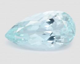 12.04 Ct Aquamarine Awesome Cut Color Gemstone Pakistan AQ8