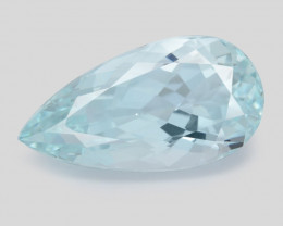 8.15 Ct Aquamarine Awesome Cut Color Gemstone Pakistan AQ11