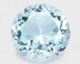 6.49 Ct Aquamarine Awesome Cut Color Gemstone Pakistan AQ17