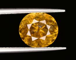 3.35 ct Natural Golden Yellow Tourmaline