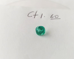 1.60ct Colombian Emerald