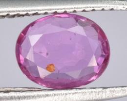 A Beautiful Pink Sapphire 0.43 CTS Gem