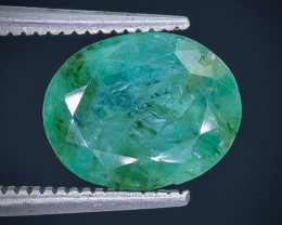 2.97 Crt Emerald  Faceted Gemstone (Rk-87)