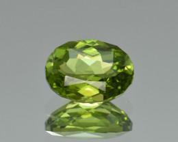Natural Himalayan Peridot 3.46 Cts Precision Cut Gemstone